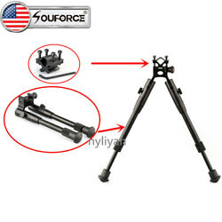 US 8quot; to 10quot; Spring Return Legs Bipod Clamp on Foldable Adapter Mount For Rifle $26.59