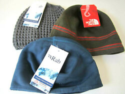 North Face & Rab Men's Beanie One Size Lof of 3 NEW WITH TAGS $65.00