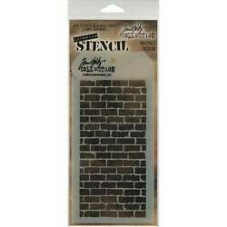 Tim Holtz Layered Stencil 4.125X8.5 Bricked 748252602558 $6.70
