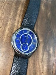 Authentic Philip Stein Mens Watch NEEDS A BATTERY $300.00