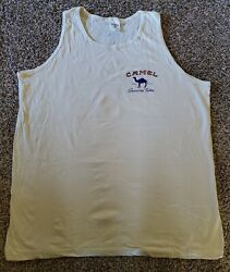 Vintage 1995 Joe Camel Tank Top Shirt Mens XL Cigarettes Smoking Made In USA