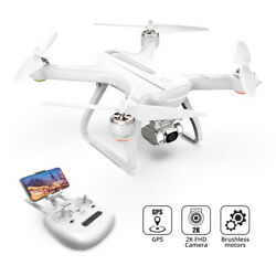 Holy Stone HS700D drone 2K FHD camera brushless RC quadcopter tapfly 5G WIFI FPV $187.99