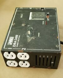 4 Channel Dimmer Relay Pack DR4 2400 James Lighting Inc. Microplex C $65.00