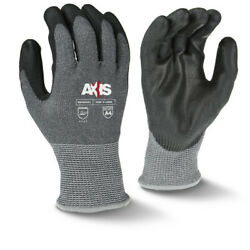 Radians RWG650 Axis Cut Level A4 PU Coated Work Safety Gloves, Multi Sizes, New $10.99