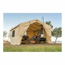 Wall Tent Stove Jack Outfitter Prospector Large Canvas Outdoor Large Hunting New $586.95