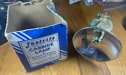 Vintage Justrite Carbide Lamp With The Box $46.00