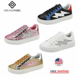 DREAM PAIRS Kids Boys Girls Casual Shoes Outdoor Sneakers Athletic Walking Shoes $9.10