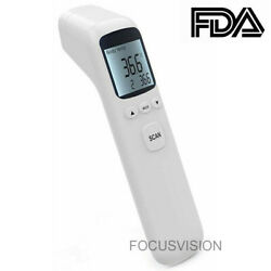 Medical NON CONTACT Body Forehead IR Infrared Digital Thermometer Adult Baby $18.99