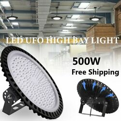 LED High Bay Light 500W 40000LM Warehouse Fixture Industrial Commercial Light