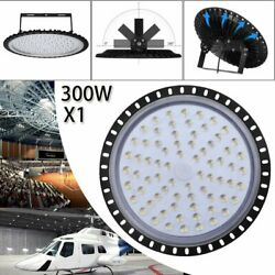 LED UFO High Bay Light 300W 24000LM Industrial Commercial Lighting Fixture 110V $53.01