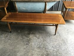VINTAGE MID CENTURY MODERN LANE ACCLAIM COFFEE TABLE STYLE #0900-01  $299.99