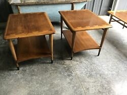 VINTAGE MID CENTURY MODERN LANE ACCLAIM SIDE TABLE STYLE#0900-05 TWO AVAILABLE $249.99