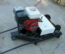 Portable Gas Power Winch for Gold Mining Dredge Recovery Logging $1200.00