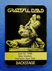 Grateful Dead Backstage Pass Rochester New York 63088 6301988 Samson vs Lion
