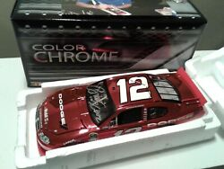 2010 Brad Keselowski Red Color Chrome Autographed 1 of 72 Made $299.99
