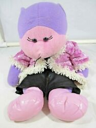 Cuddly Kids Beanie Bear Sassy 46cm Tall Pre owned Made in China. AU $17.05