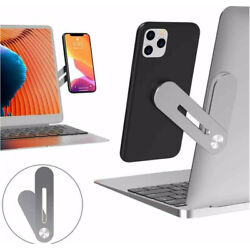 Multi Screen Support Holder Laptop Side Mount Connect Phone Bracket Tablet $12.92