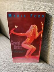 The Showgirl Murders VHS Rare Horror Maria Ford New Horizons $17.00