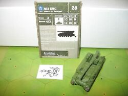 Axis & Allies Eastern Front M12 GMC with card 9/60 $30.00