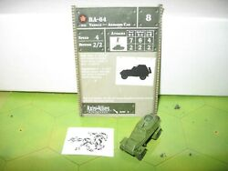 Axis & Allies Eastern Front BA-64 with card 15/60 $3.00
