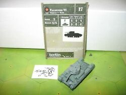 Axis & Allies Eastern Front Valentine VI with card 26/60 $8.00