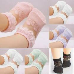 Newborn Baby Lace Soft Toddler Socks Girls Cute Breathable Kids Socks 22 ColorsU $7.87