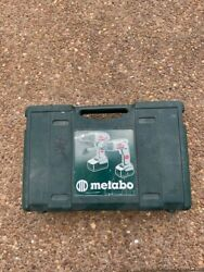 Used Metabo Cordless Drill BSZ 18 18V with 2 Batteries Charger  $11.54