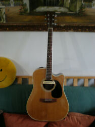 VINT 70'S TAKAMINE EF360SC ACOUSTIC ELECTRIC GUITAR -