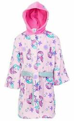 St. Eve Girls Beach Cover up Robe Pink Mermaid Small 5 6 $29.50