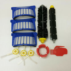 Replacement Parts Kit For iRobot Roomba 600 Series Vacuum Filter Brush Cleaner $12.99