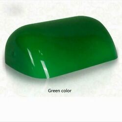 Green Replacement Glass Bankers Lamp Shade Cover for Desk Lamp L8.85 W5.11 $21.99
