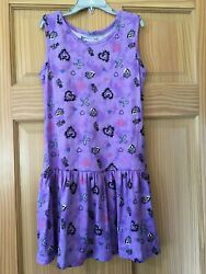 New Disney Descendants Dress Girls Purple soft $8.99
