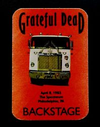 Grateful Dead Backstage Pass Mack Truck Philadelphia Spectrum PA 4885 481985