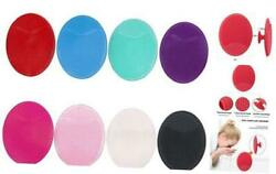 GNAWRISHING 8pcs Soft Silicone Face Cleanser Handheld Mat Silicone Face Brush $10.53