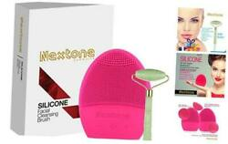 Waterproof Facial Cleansing Brush - Cleanser Sonic Silicone Face Scrubber For Cl $28.09