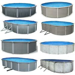 *IN STOCK* Steel Wall Above Ground Pool Kits plus Charlie#x27;s Starter Package $6345.90