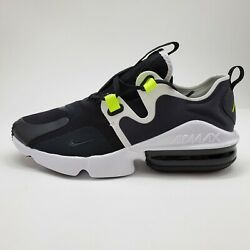 NEW Nike Max Air Infinity Mens Sz 7 Running Shoes Grey Black White BQ3999 001