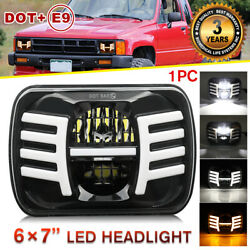 105W 5X7quot; 7x6 inch Rectangle LED Cree Headlight DRL for Toyota Pickup Truck jeep $42.44