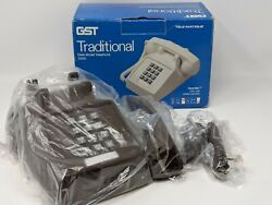 GST Traditional Desk Model Telephone 2500 Brown MINT $124.00