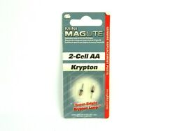 MAGLITE 2 CELL AA KRYPTON FLASHLIGHT REPLACEMENT LAMPS $8.00