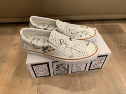 Vans Daniel Johnston No Comply Slip On Pro Size 13 Mens IN HAND 100% AUTHENTIC $129.99