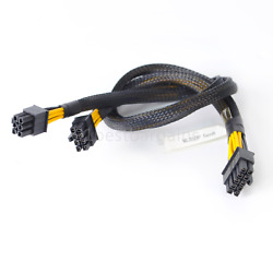 10Pin to 6Pin Power Cable GPU Cable 8Pin Drive Backplane for HP ML350 G8 50cm $16.50