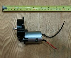 COLEMAN RECHARGEABLE BLENDER MOTOR AND SPEED GEAR ASSEMBLY 850 Series TESTED $14.99
