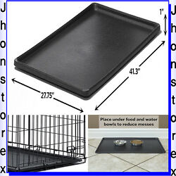 Dog Crate Tray 41 x 28 Replacement Pan Pet 42 Inch For Kennel Cage 42in Bed NEW. $34.28