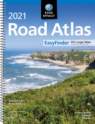 Rand Mcnally USA Road Atlas 2021 BEST Large Scale Travel Maps United States NEW $13.99