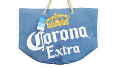 Official Licensed Corona Extra Beach Tote Bag Blue $15.99