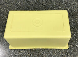 Vintage Tupperware 638 Harvest Gold 1 LB Butter Dish Replacement Cover Only $7.98