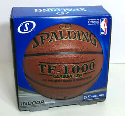 Spalding TF 1000 Classic ZK Indoor Microfiber Composite Basketball Size 7 29.5quot; $50.00