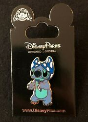 💎 Exclusive Disney Parks Stitch w Bikini on Head Walt Disney World Pin on Card $13.99