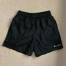 Champion Shorts Black Size Medium M $44.50